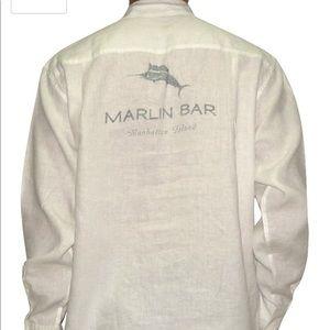 Tommy Bahama Marlin Bar Manhattan Island shirt